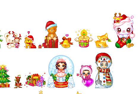 Animated Christmas Cuteness