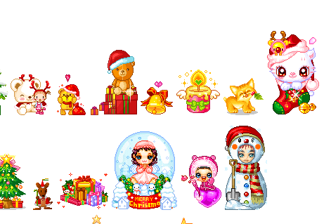 Animated Christmas Cuteness