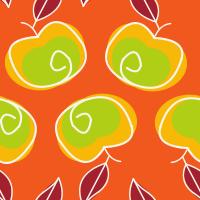 Apple Mango Tango Seamless Pattern Set