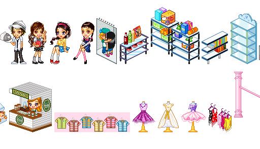 Cartoon World Mall Items 5