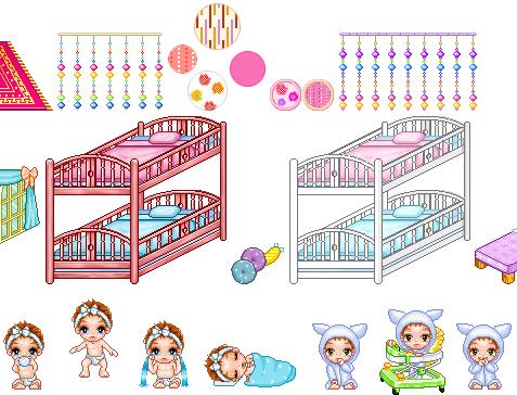 Cartoon World Baby Items