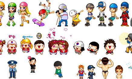 Cartoon World People 3