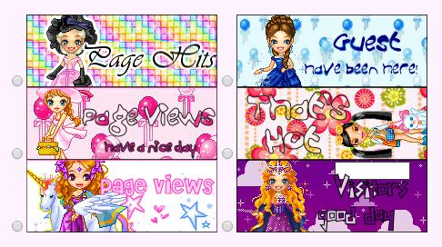 Cute Web Page Counters 3