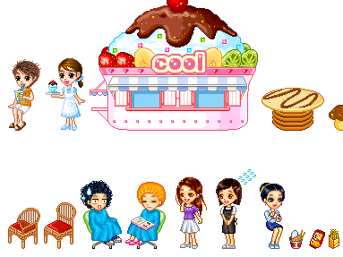 Cartoon World Mall Items 2