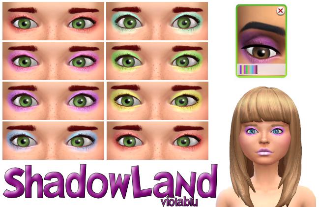 Shadowland Eye Shadow Set