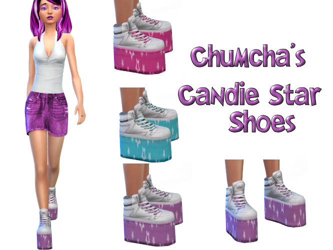 Chumcha's Candie Star Shoes in 3 colors