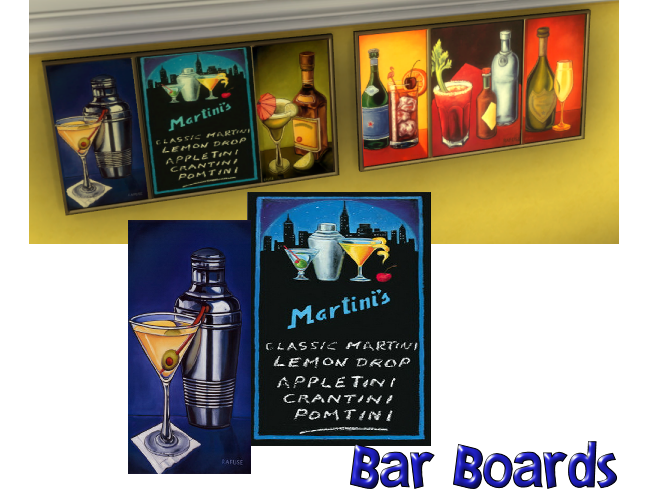 Bar Boards