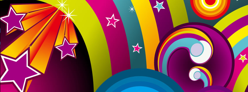 Colorful Facebook Covers