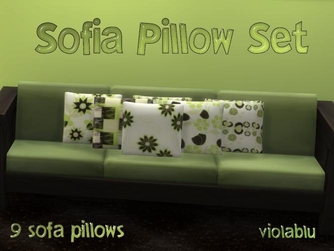 Sofia Sofa Pillow Set of 9