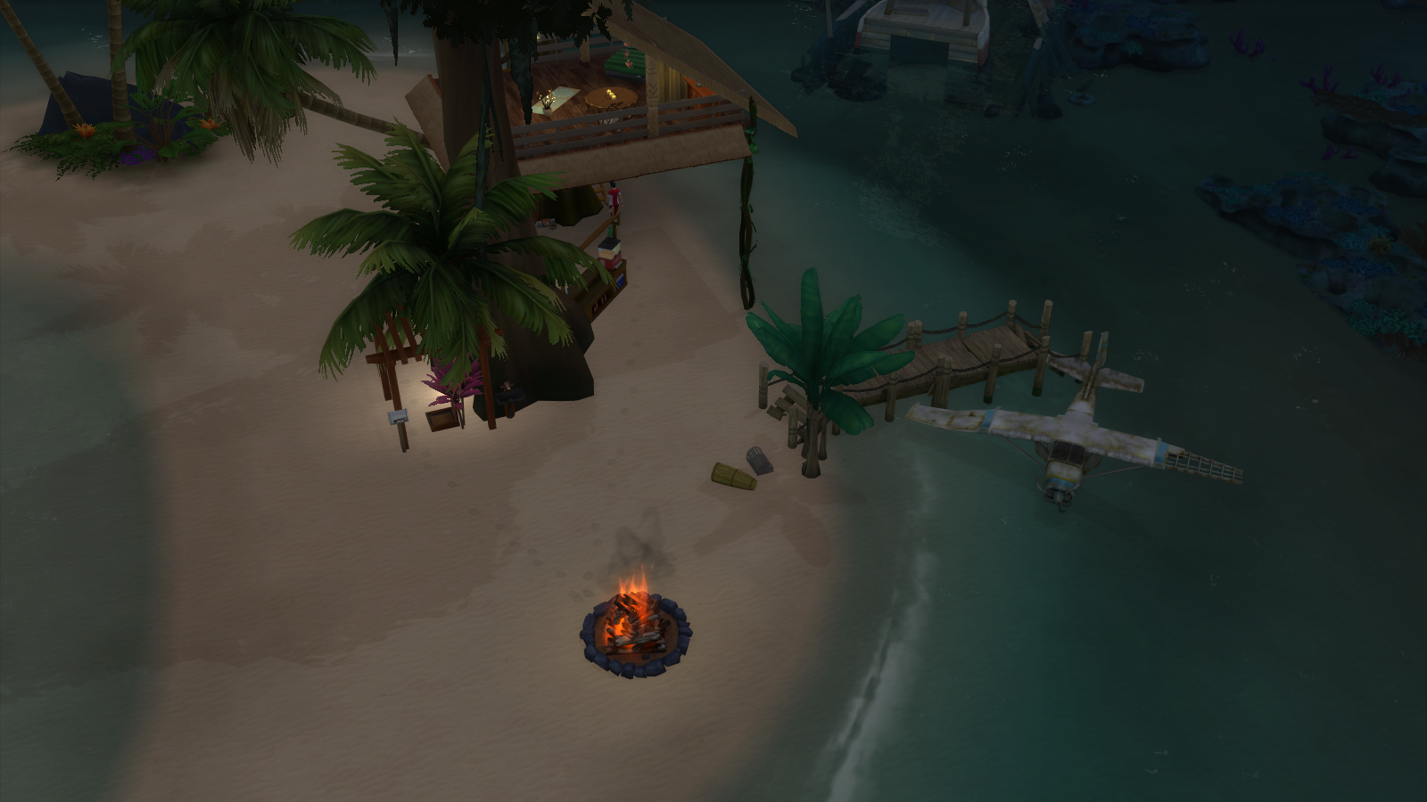 Tree House Sims 4 Island