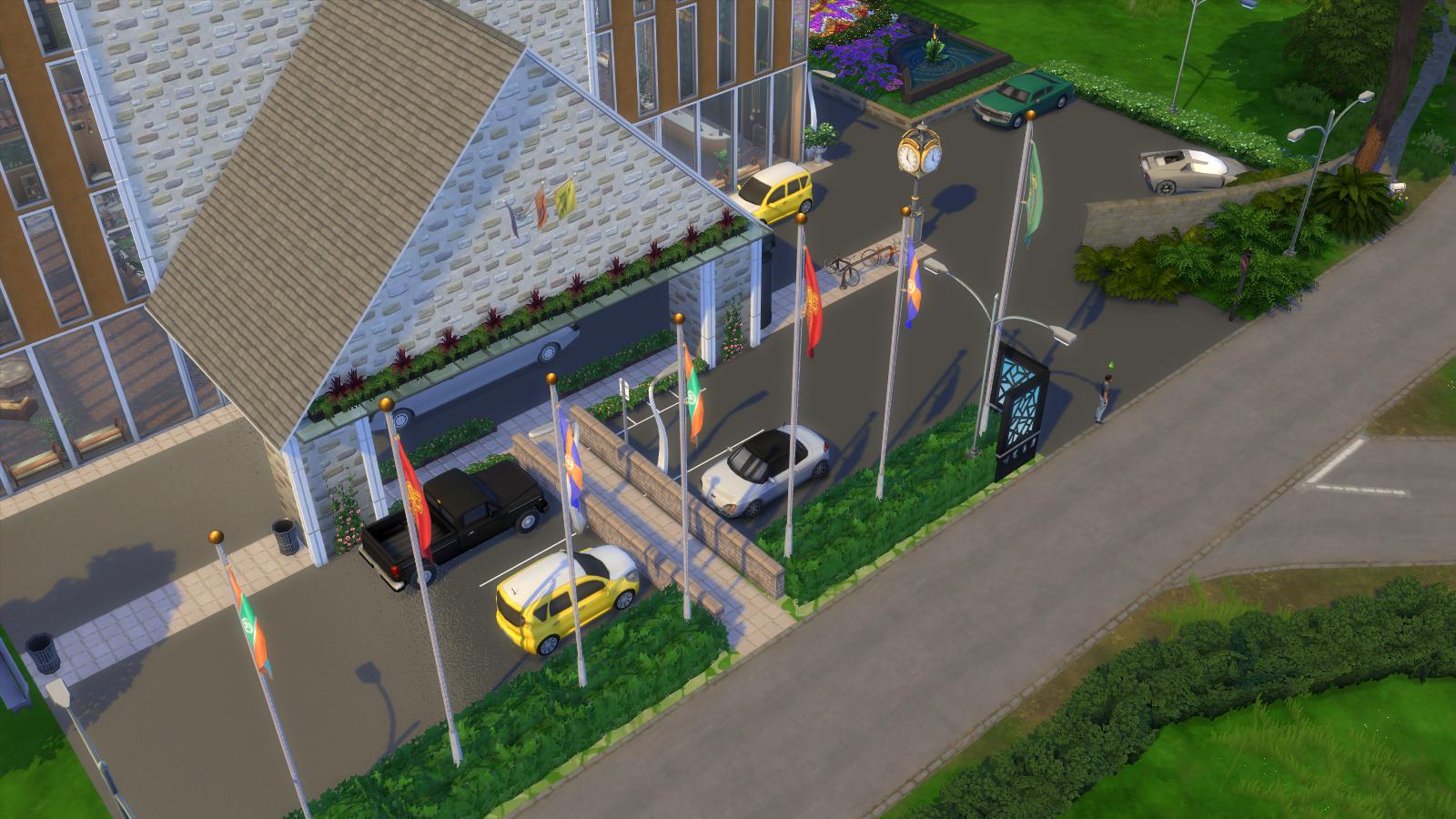 Embassy Suites Sims 4 no CC