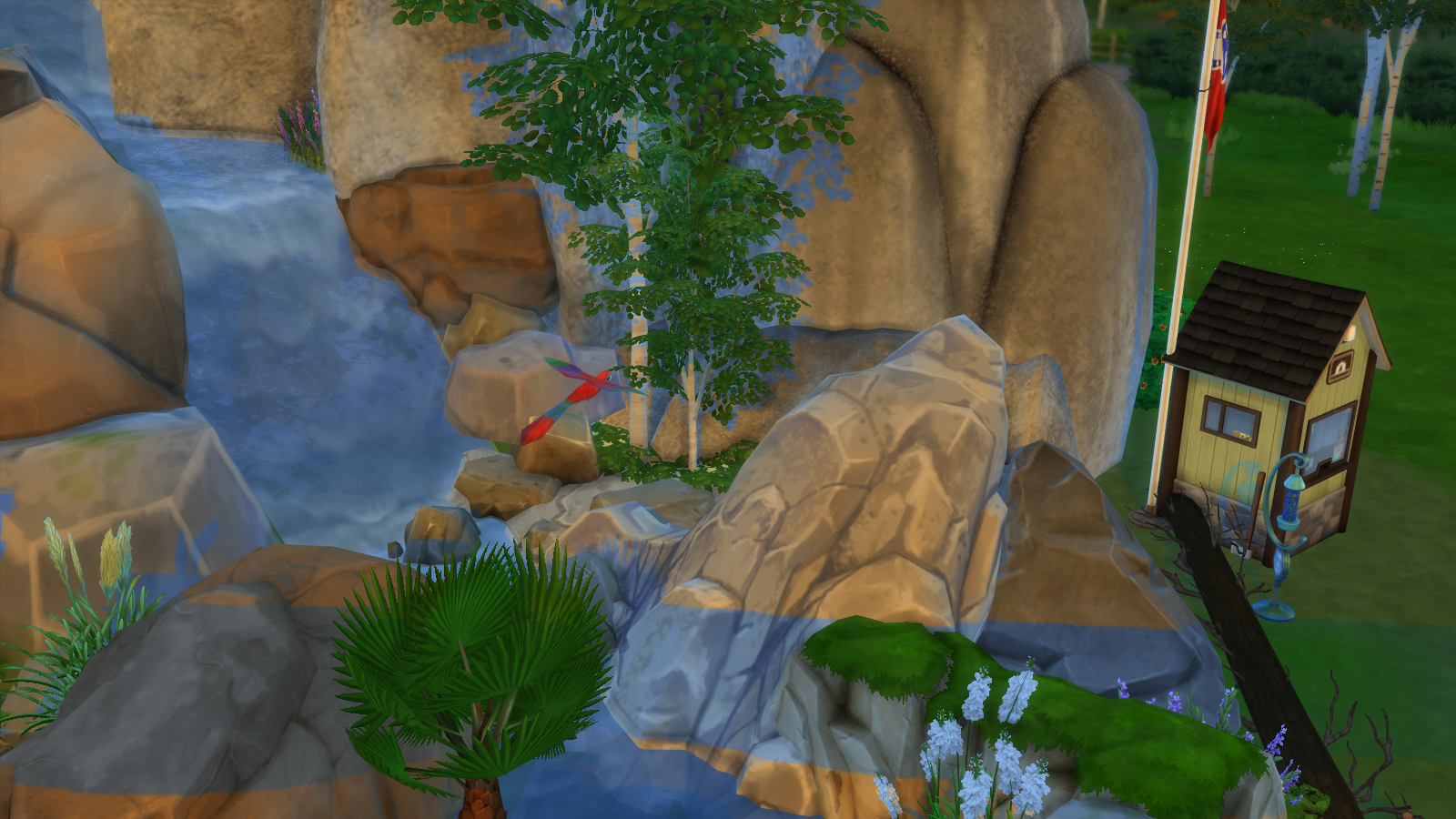 Sativa Falls National Forrest for Sims 4