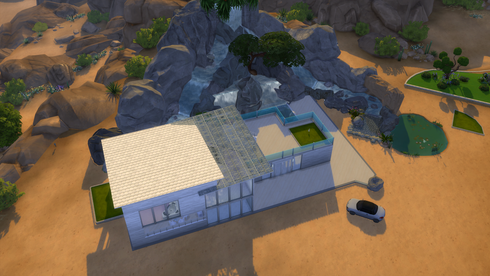 Desert Rose a House For Sims 4 Realistic Realty
