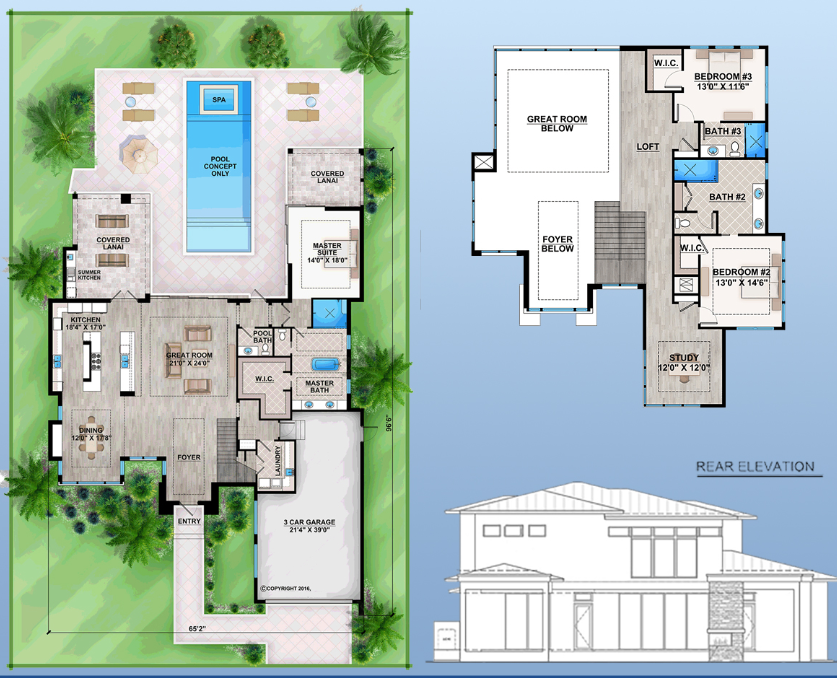 Floor Plan #2 Sims 4 Realistic Realty