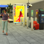 Simolean Mall for Sims 4