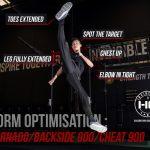 The TORNADO KICK   Tricking Form Optimisation Series