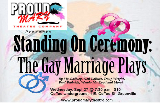 Casting Call for THE GAY MARRIAGE PLAYS