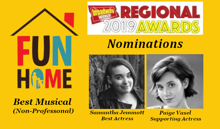 Fun Home nominated for Broadway World Awards