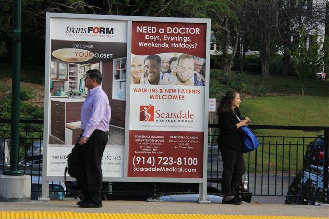 Rail Platform Poster_Scarsdale Medical Group_Three Sheet