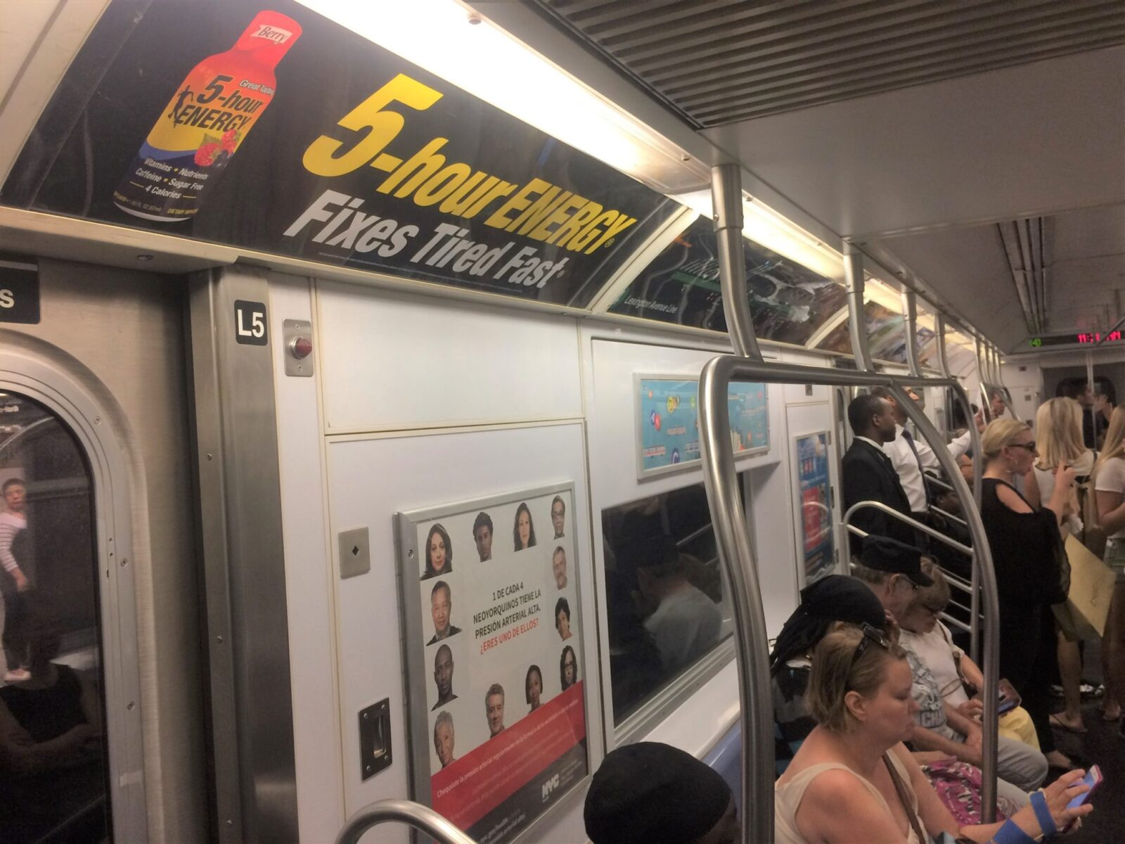 Subway Advertising Interior