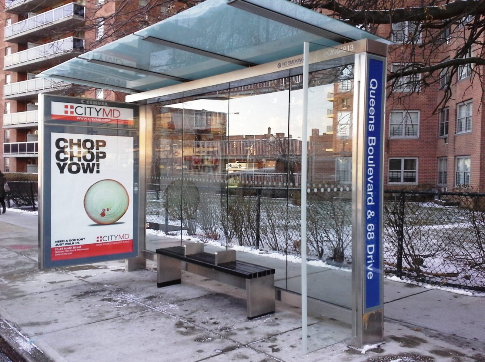 Street Furniture City MD BUS SHELTER ADVERTISING