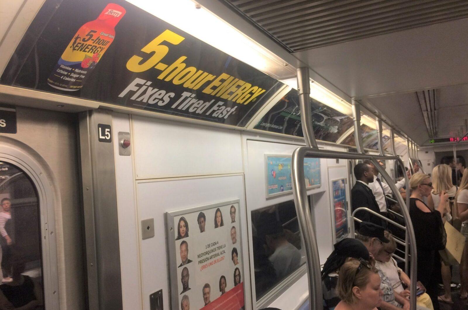 Subway Advertising Interior Car Card