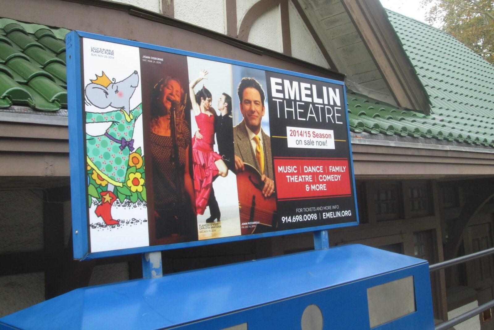 Emelin Theatre Metro North Advertising