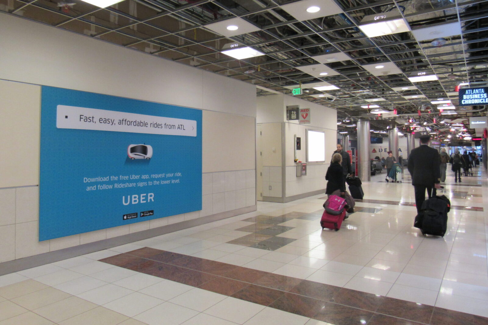 Uber Technologies Airport Wall Posters