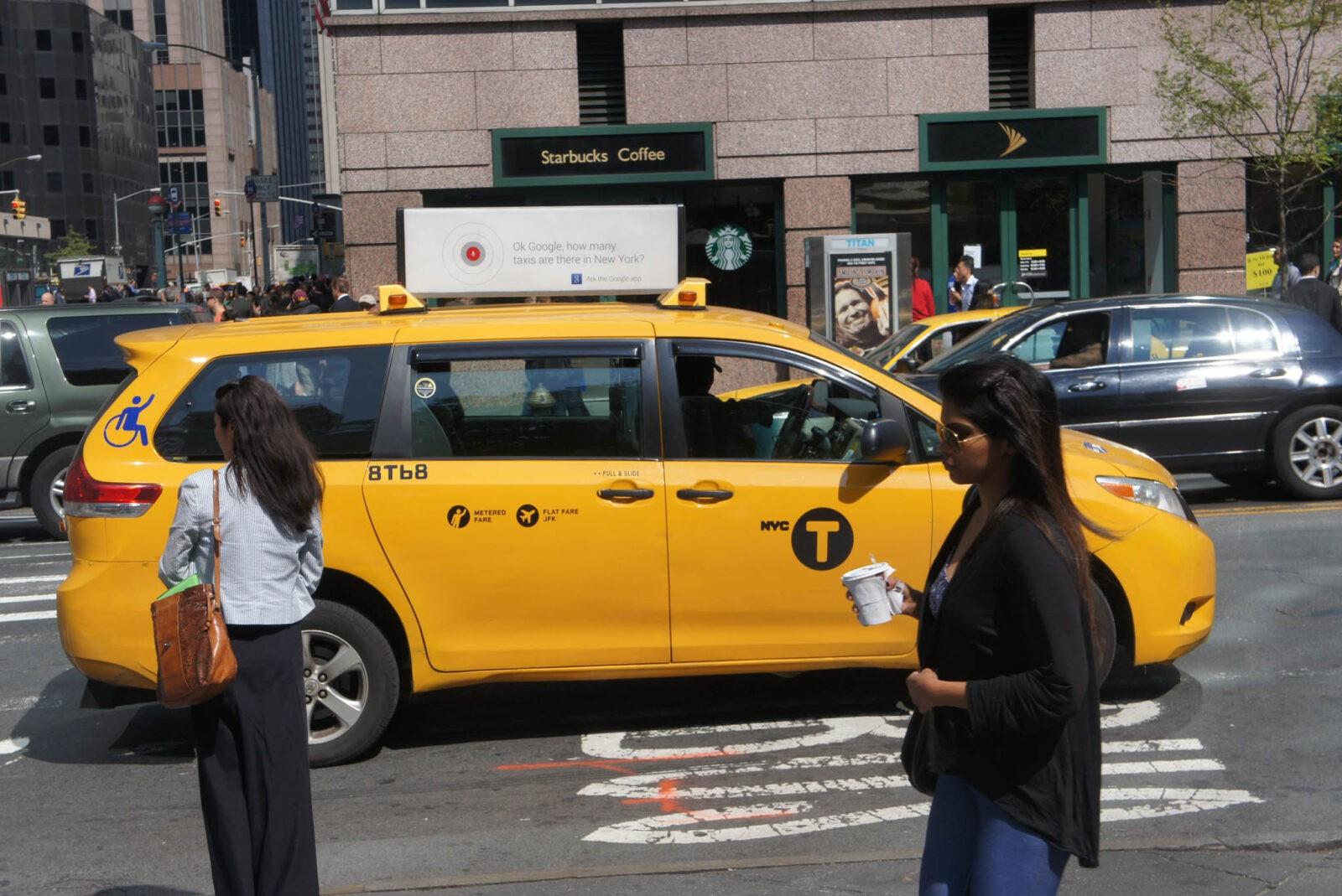 The OK Google Taxi Campaign