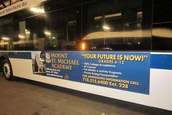 Mount Saint Michael Bus Campaign