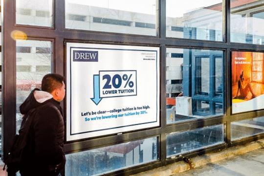 Drew University New Jersey Transit Campaign
