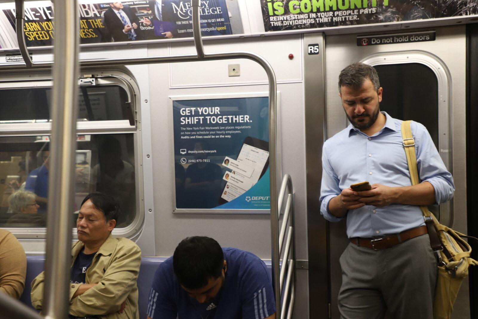 Deputy Subway Advertising
