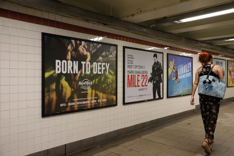 Subway Advertising