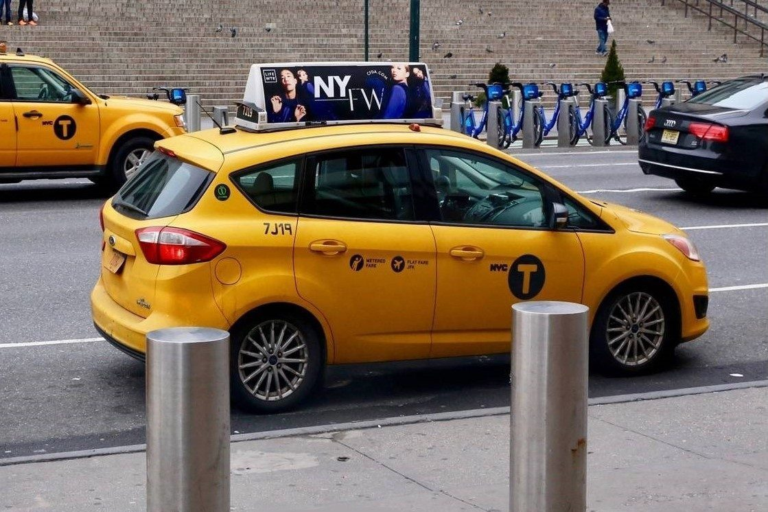 CFDA Taxi Top Advertising Campaign