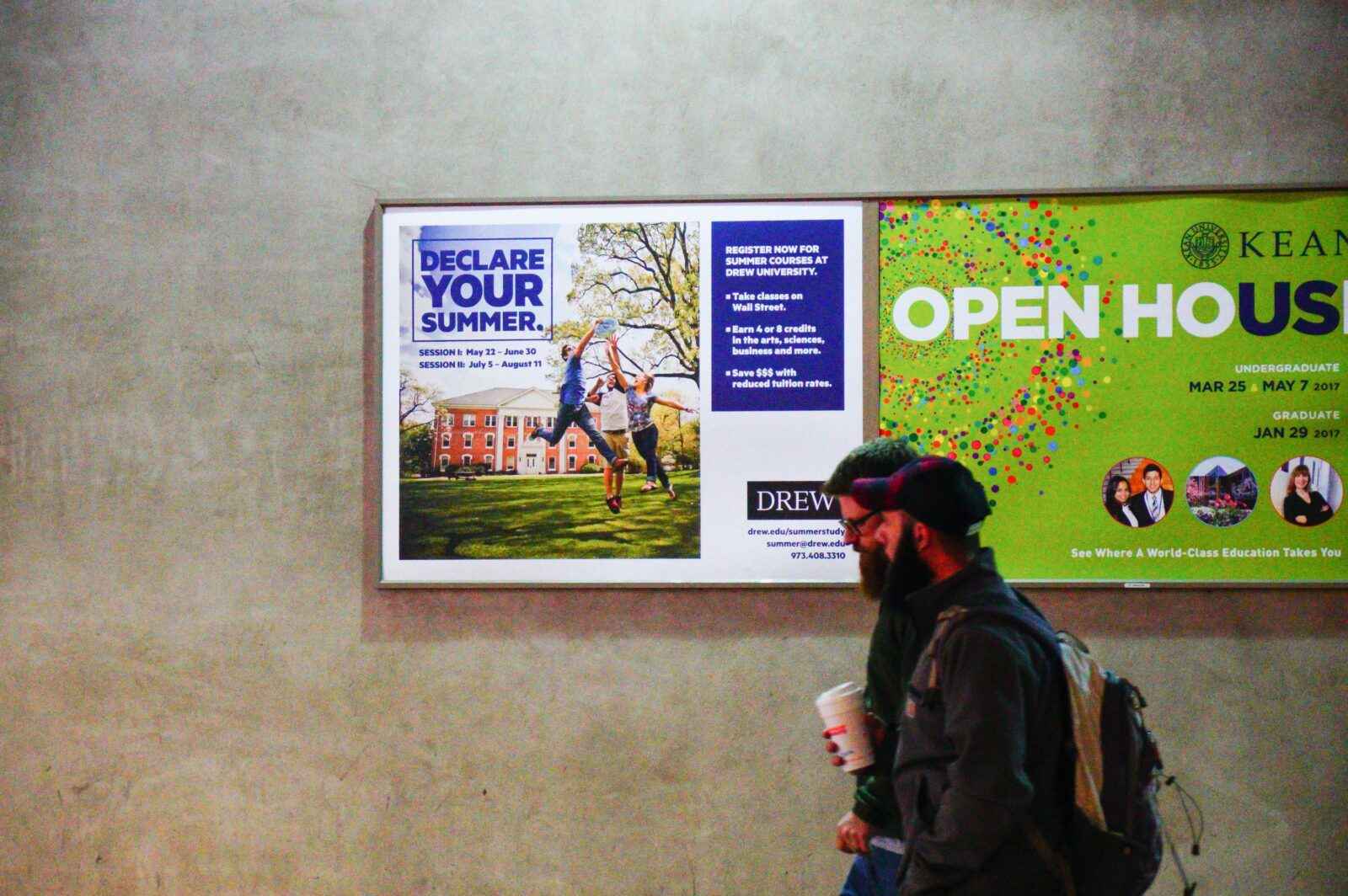 Drew University Rail Platform Two Sheet Poster
