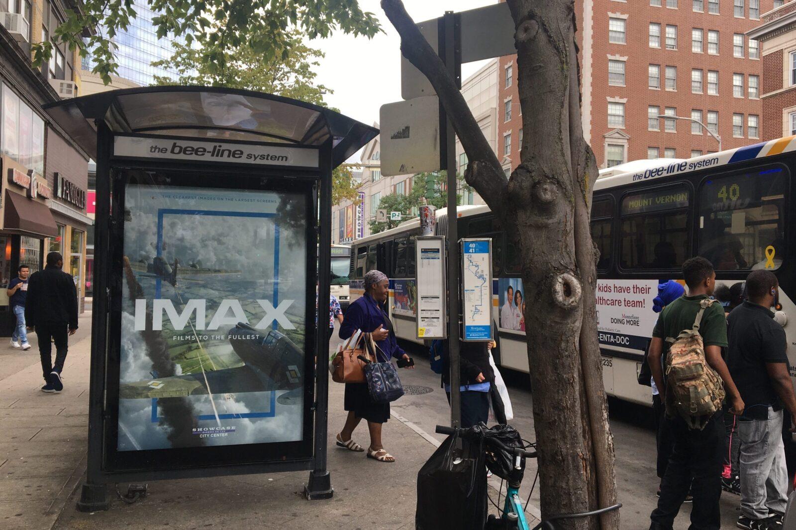 National Amusements Bus Shelter Advertising