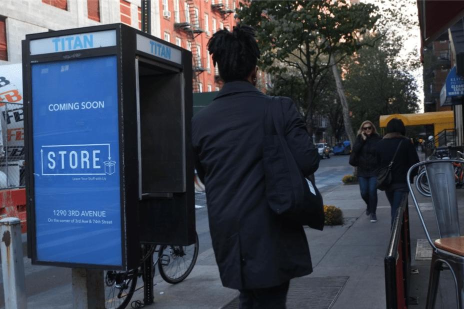 Box Dock Phone Kiosk Advertising Campaign
