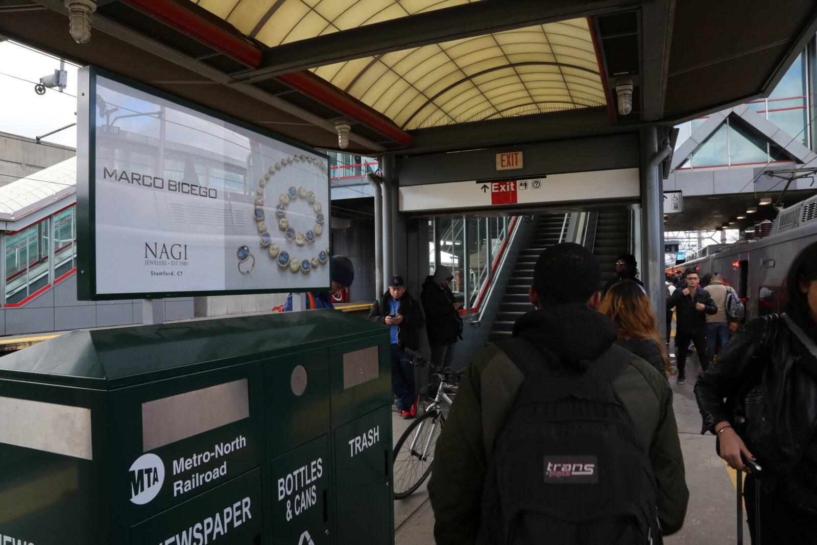 NAGI Jewelers Rail Platform Kiosk Posters Advertising Campaign