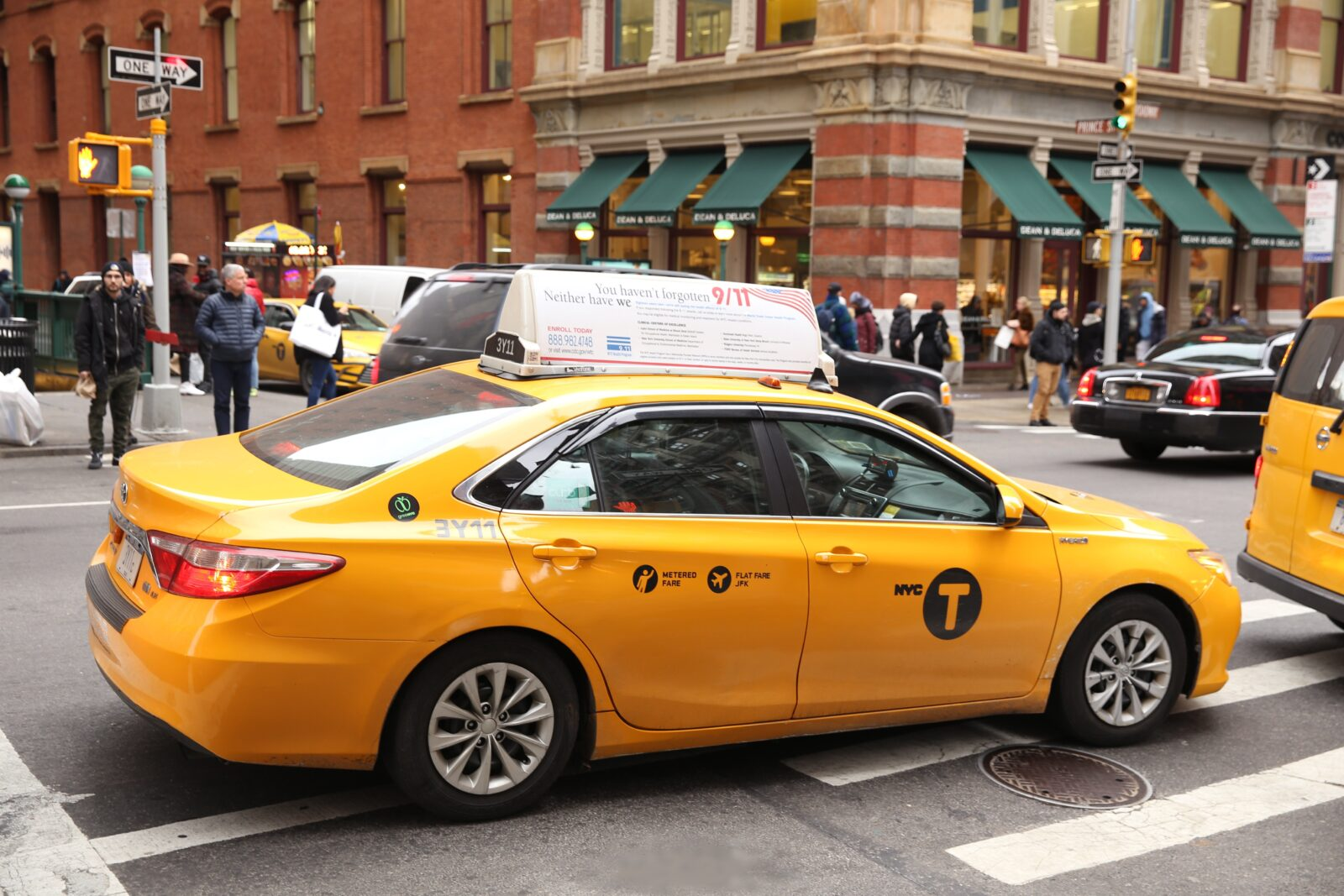 World Trade Center Taxi Advertising Campaign