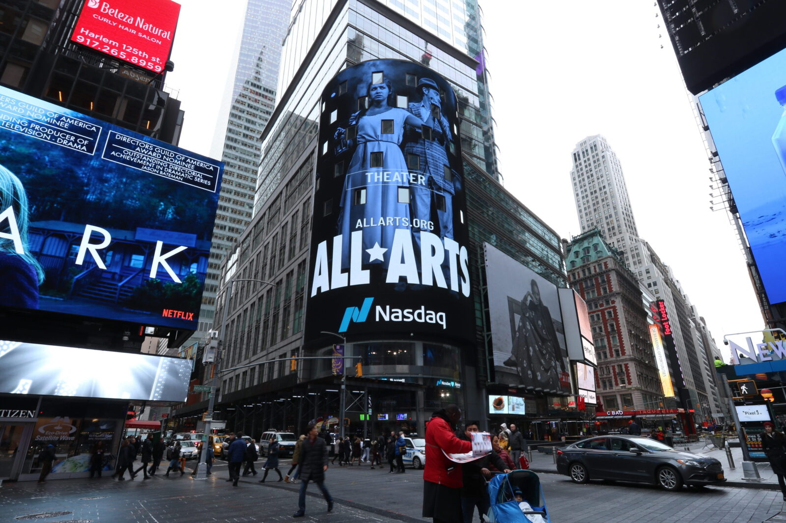 WNET All Arts Times Square Advertising