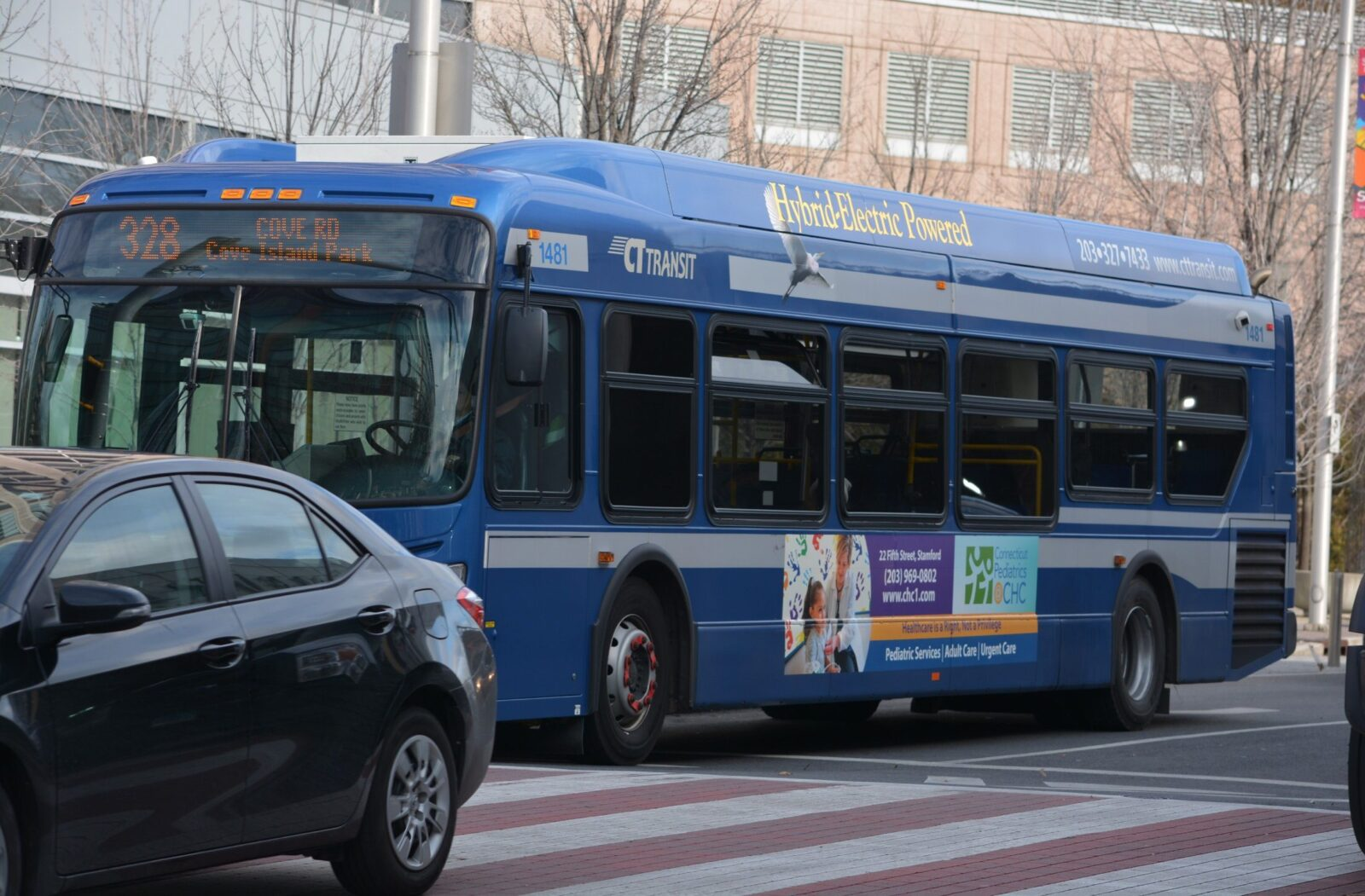 Community Health Center Stamford Bus Advertising Campaign