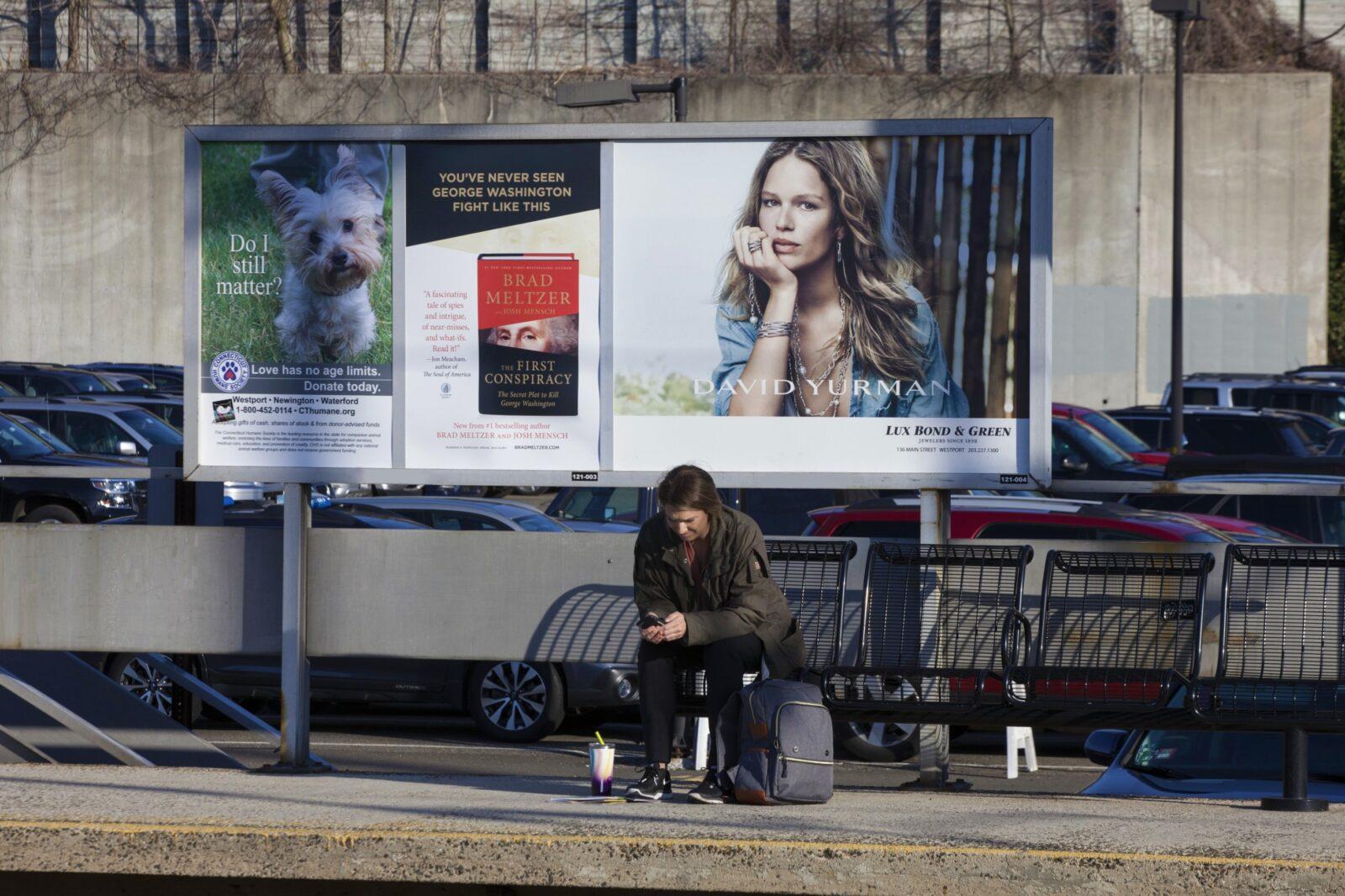 Lux Bond & Green Rail Platform Two Sheet Poster Advertising