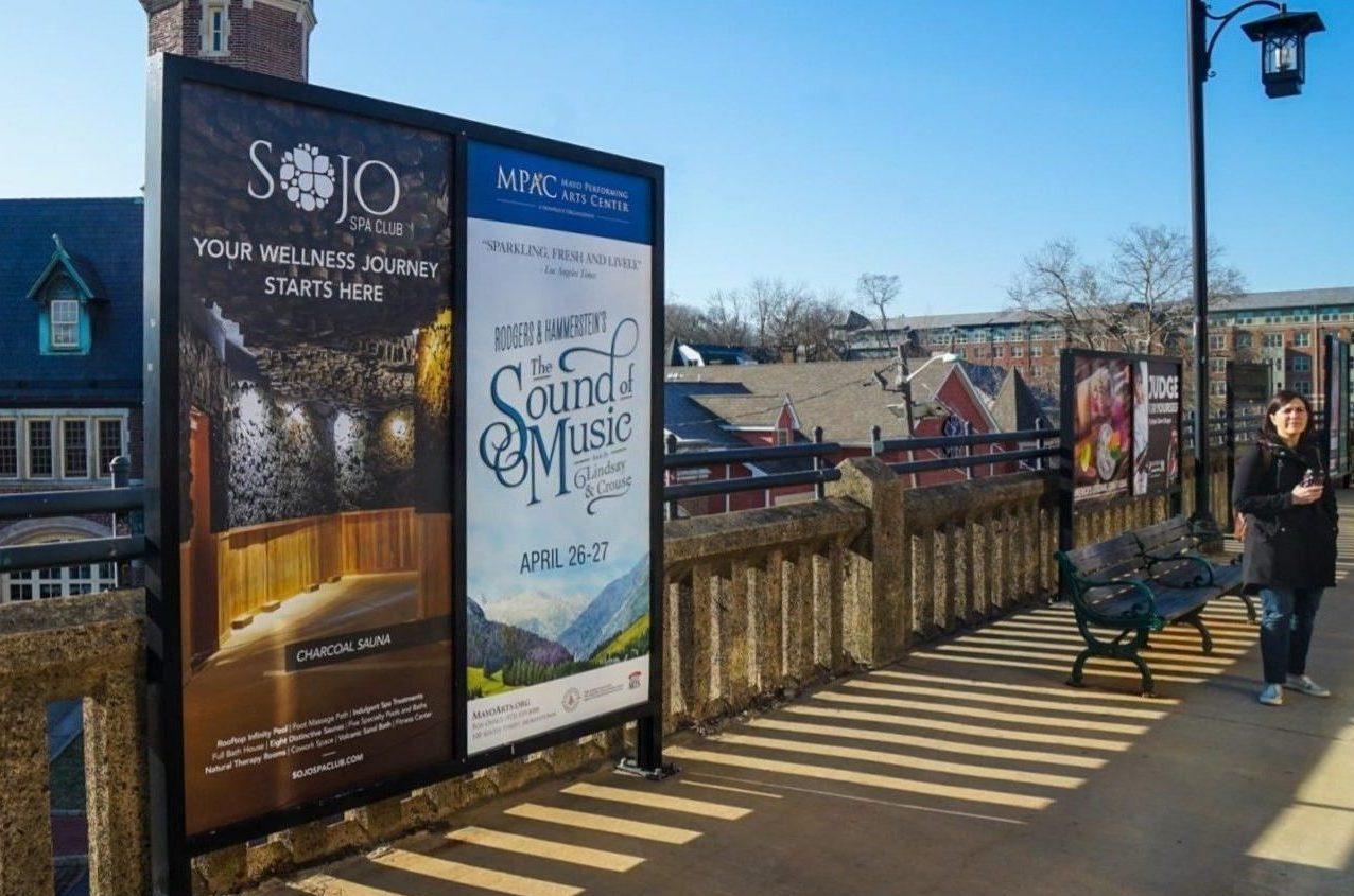 SoJo Spa Club Rail Platform Three Sheet Poster 3