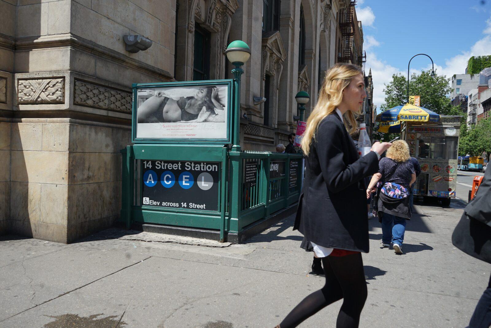 New York Company Urban Panel Advertising