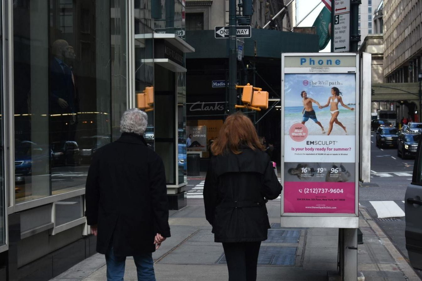 The Wellpath Phone Kiosk Advertising Campaign