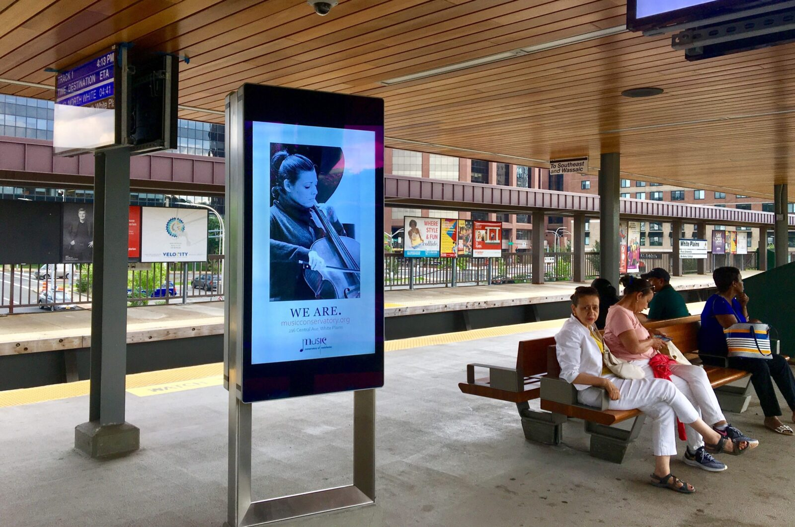 MUSIC CONSERVATORY DIGITAL RAIL ADVERTISING CAMPAIGN