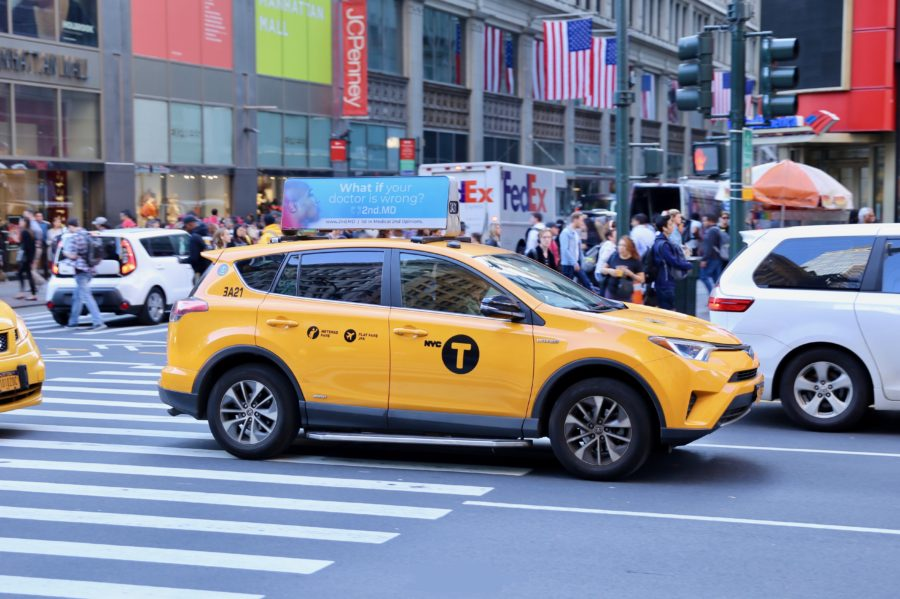 2nd MD High Impact Taxi Top Advertising