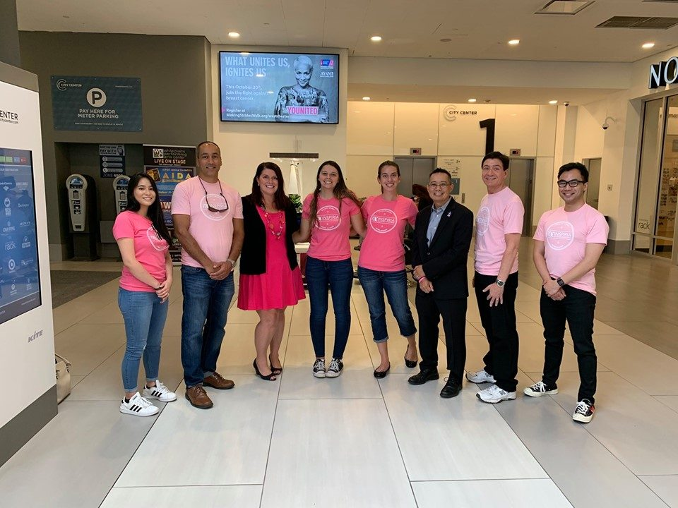 Inspiria Outdoor Goes Pink For Breast Cancer Awareness Month!