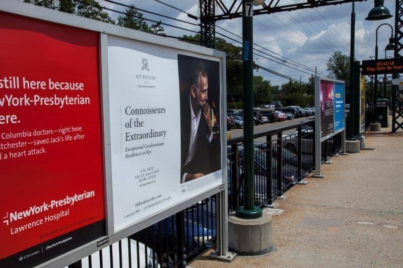 St. Regis Residences Rail Platform Advertising