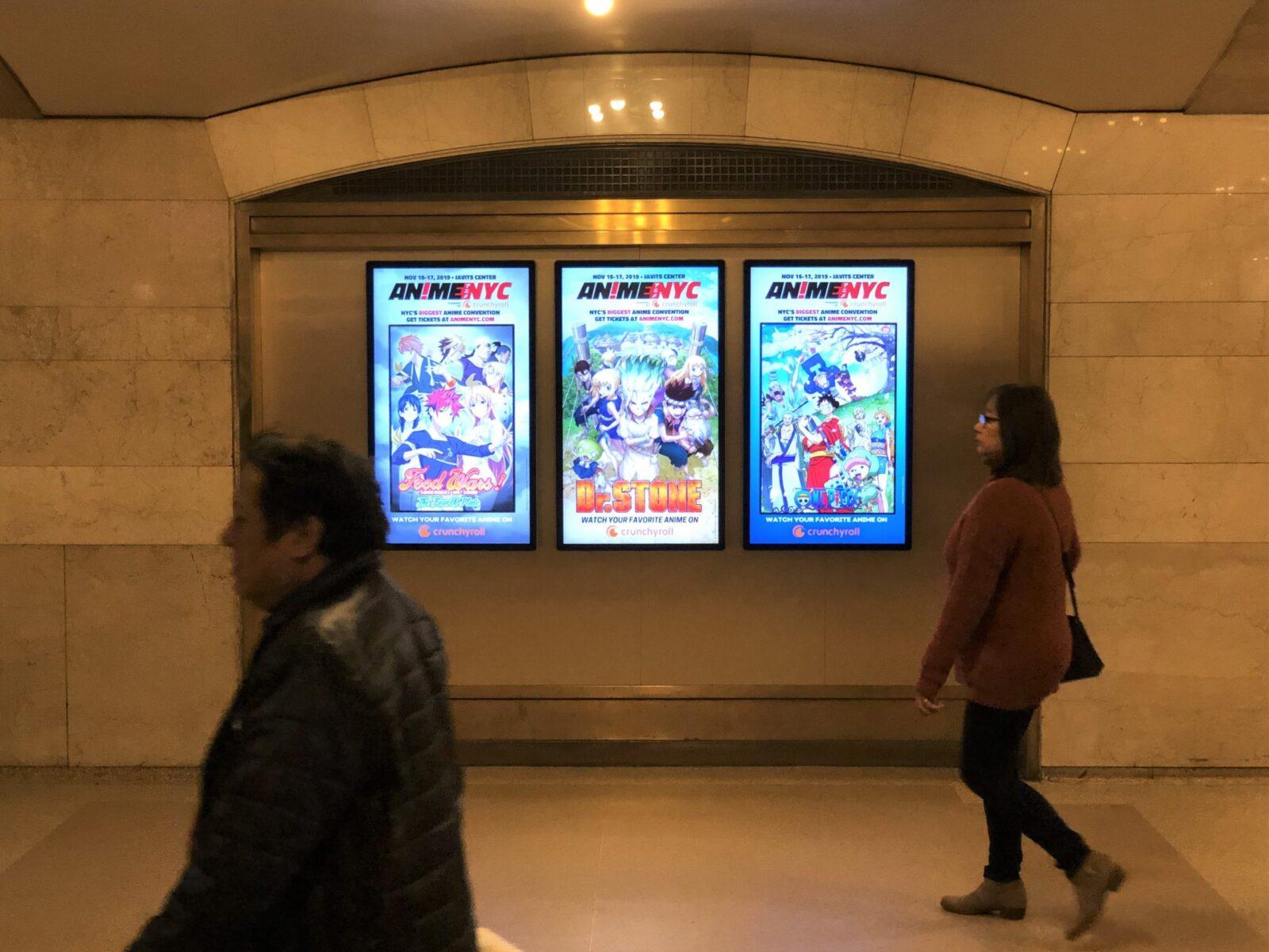 AnimeNYC Digital Liveboard Advertising